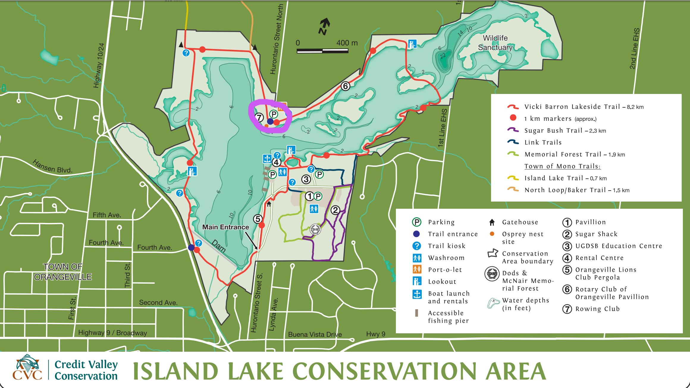 Island Lake State Park Map Island Lake Map | Lifeology 101